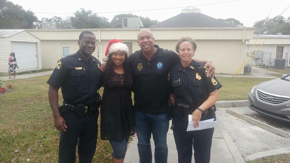 Holiday Giving with SPPD